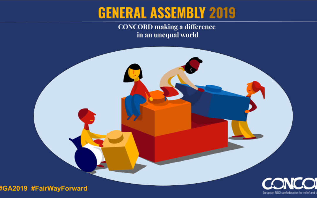 Reporting back from CONCORD General Assembly 2019