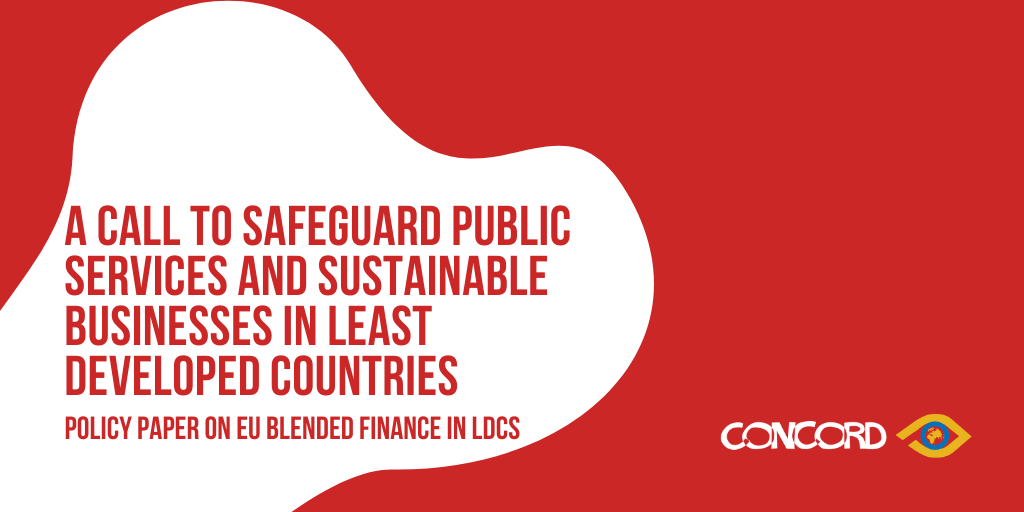 A call to safeguard public services and sustainable businesses in Least Developed Countries