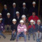 Unter Tage im Silbereisenbergwerk Gleissinger Fels