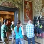 Gespanntes Lauschen was es über den Kaisersaal zu erzählen gibt