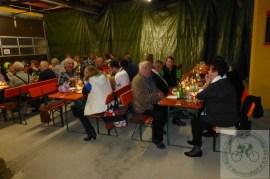 Die Tenne der Brauerei Hummel war gut besucht und allen Gästen hat es bei der Concordia wieder mal gefallen