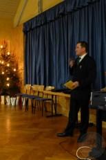 Der Vorstand begrüßte die zahlreich erschienenen Mitglieder der Concordia Merkendorf zur Nikolausfeier