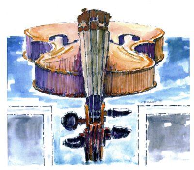Violin by Joseph Crilley