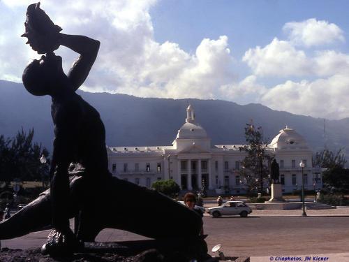 Age-old argument over Haiti quake