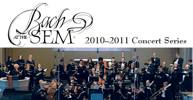 """Bach at the Sem"" opening 19th season"
