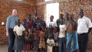 congregation members at the church in Lira, Uganda