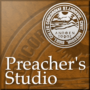 The Preacher's Studio: Glenn Nielsen