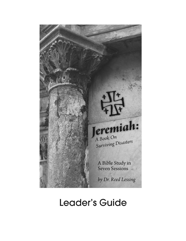 New Bible Study on Jeremiah by Reed Lessing