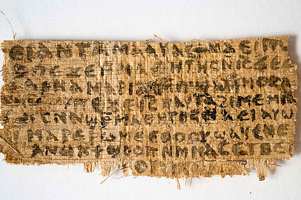An Ancient Manuscript and Jesus' Wife?
