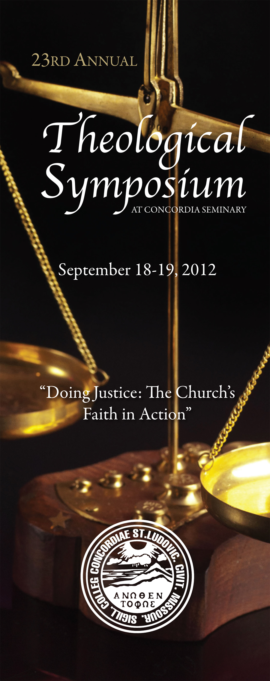 2012 Theological Symposium: Doing Justice