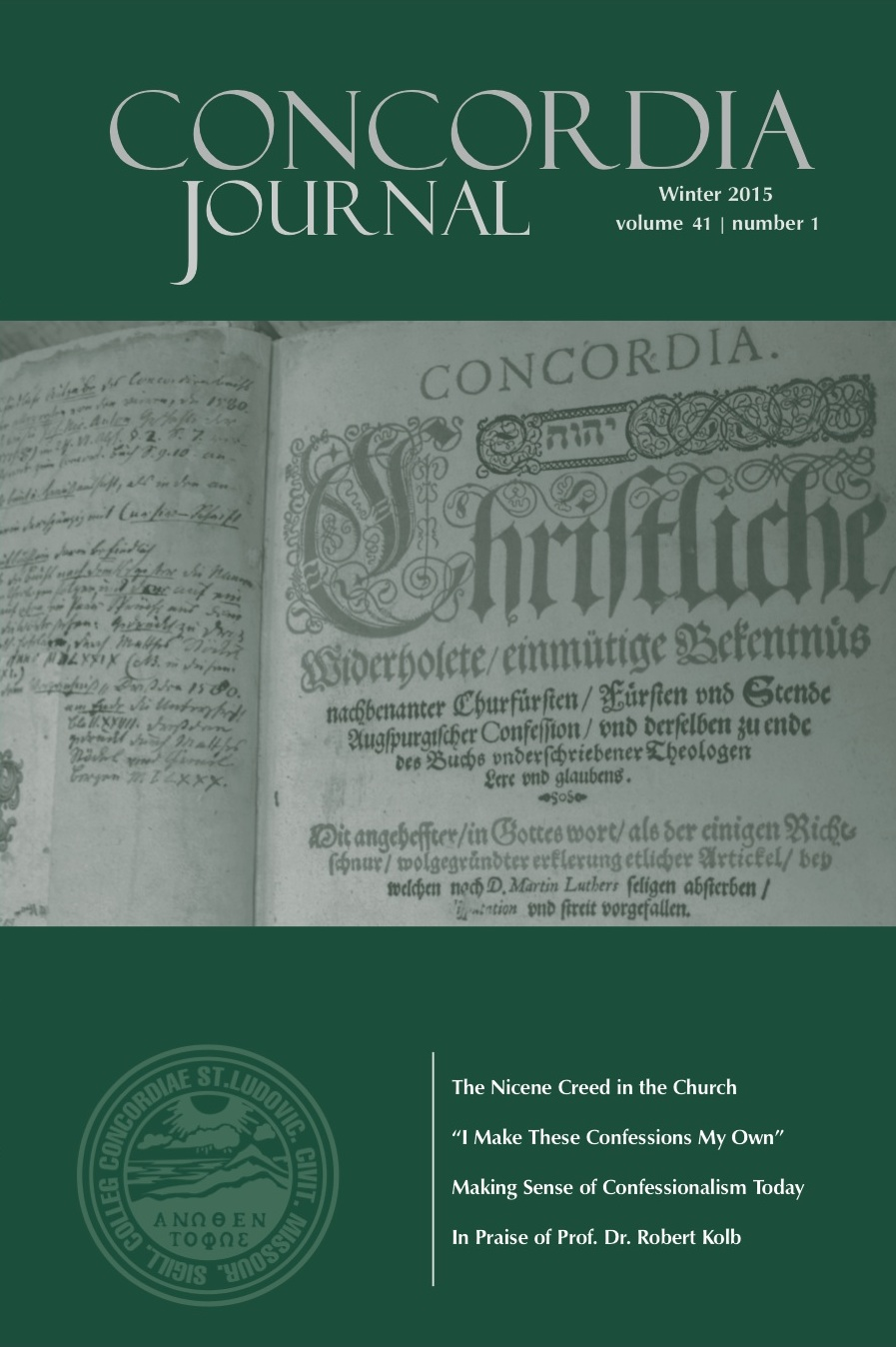 Conversations on the Lutheran Confessions