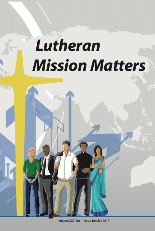 Schumacher and Raj in latest Lutheran Mission Matters
