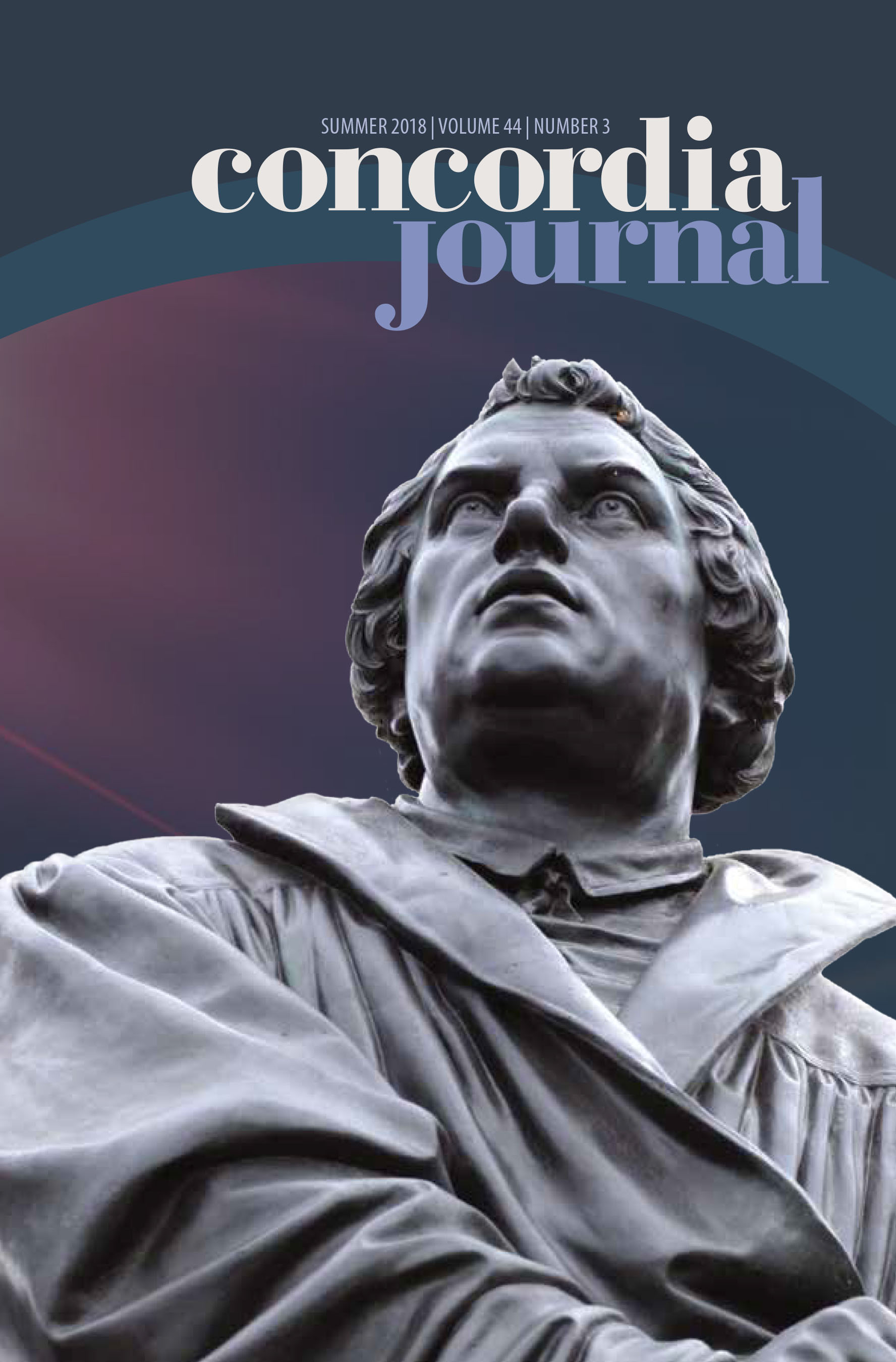 Concordia Journal, Summer 2018