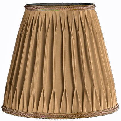 Silk Lampshades – Box Pleats, Part 2 - Concord Lamp and Shade