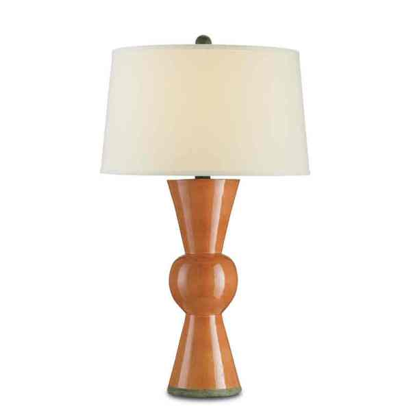Upbeat Table Lamp, Orange