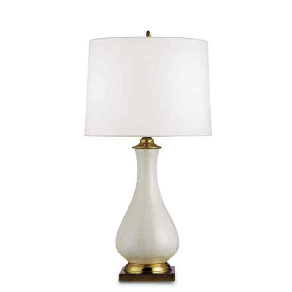 Lynton Table Lamp, Cream
