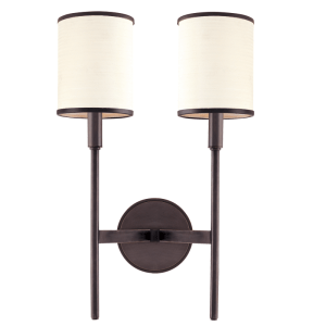 622-OB_Hudson Valley Aberdeen 2-Light Wall Sconce in an Old Bronze Finish