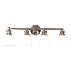 2304-PN_Hudson Valley Riverton 4-Light Bath Sconce in a Polished Nickel Finish