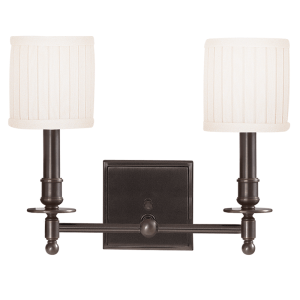 302-OB_Hudson Valley Palmer 2-Light Wall Sconce in an Old Bronze Finish