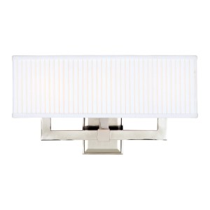 353-PN_Hudson Valley Waverly 3-Light Rectangular Wall Sconce in a Polished Nickel Finish