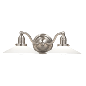 3912-SN_Hudson Valley Hadley 2-Light Bath Sconces in a Satin Nickel Finish