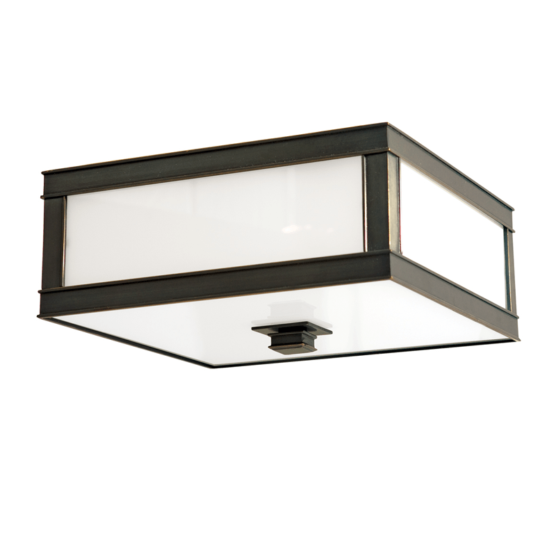 4216-OB_Hudson Valley Preston 3-Light Flush Mount Ceiling Fixture in an Old Bronze Finish