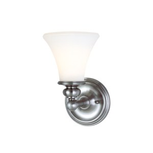 4501-PN_Hudson Valley Weston Single Light Bath Sconce in a Polished Nickel Finish