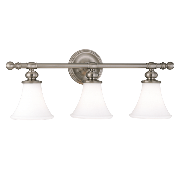 4503-SN_Hudson Valley Weston 3-Light Bath Sconce in a Satin Nickel Finish