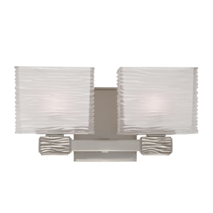 4662-SN_Hudson Valley Hartsdale 2-Light Bath Sconce in a Satin Nickel Finish