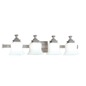 5504-SN_Hudson Valley Wilton 4-Light Bath Sconce in a Satin Nickel Finish