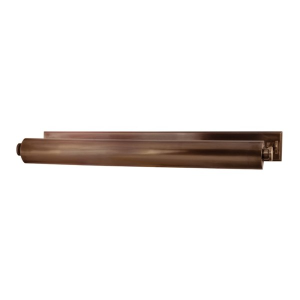 "6029-DB_Hudson Valley Merrick 31"" Picture Light in a Distressed Bronze Finish"