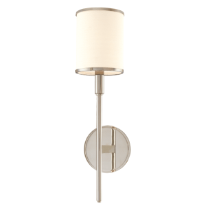 621-PN_Hudson Valley Aberdeen Single Light Wall Sconce in a Polished Nickel Finish