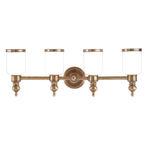 6304-AGB_Hudson Valley Chatham 4-Light Bath Sconce in an Aged Brass Finish