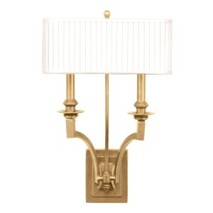 7902-AGB_Hudson Valley Mercer 2-Light Wall Sconce in an Aged Brass Finish