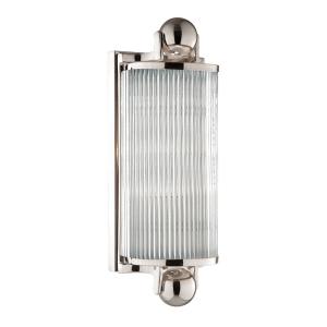 851-PN_Hudson Valley McLean Single Light Bath Bar in a Polished Nickel Finish – ADA