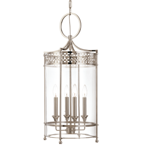 8994-PN_Hudson Valley Amelia 4-Light Pendant in a Polished Nickel Finish