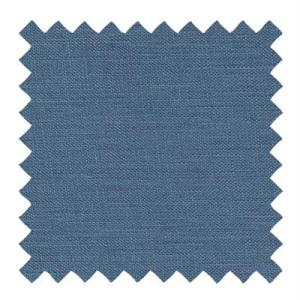 523- Textured Linen Surf Blue Lampshade Fabric