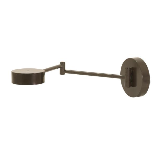 G475-ABZ_House of Troy Generation 4 Collection LED Wall Swing Arm Lamp in an Architectural Bronze Finish