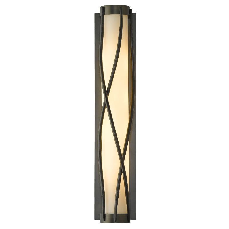 Hubbardton Forge Glass Shades: Hubbardton Forge Twine Wall Sconce With Glass Options