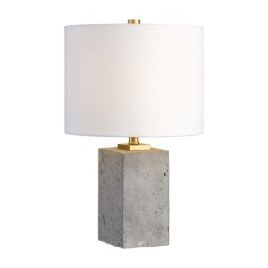 Uttermost Drexel Concrete Table Lamp 29237-1