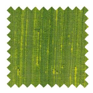 L517 - Dupioni Silk Fabric in Lime Green