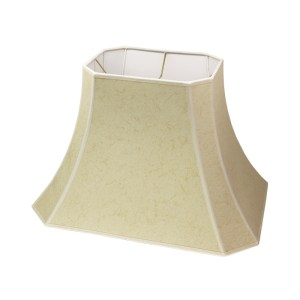 Cut Corner Rectangle Bell Hardback Lampshades