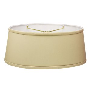 Short Oval Hardback Lampshades