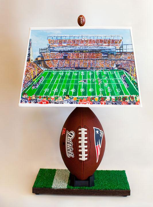 Patriots Football Lamp