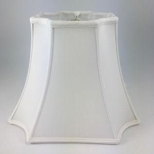 Inverted Corner Square Silk Bell Lampshades