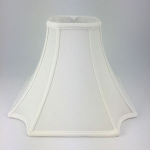 Oriental Inverted Square Silk Bell Lampshades