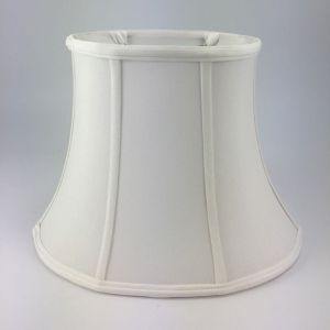 Oval Silk Bell Lampshades