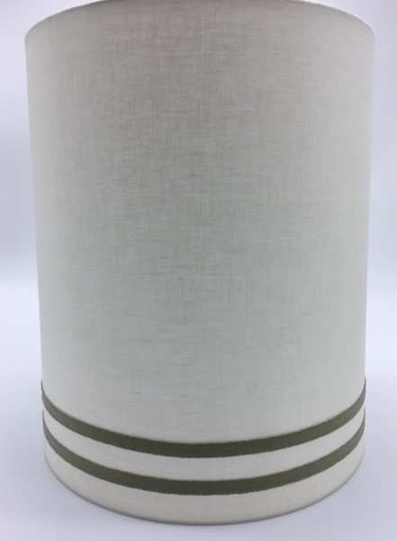 Cylinder Lampshade Custom Trim