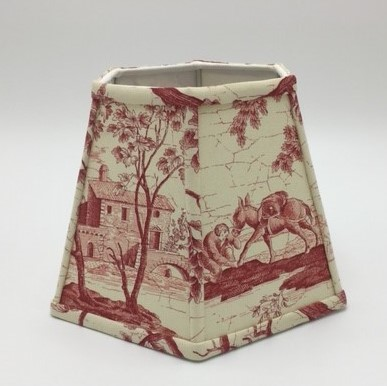 Hexagon Lampshade Custom Fabric