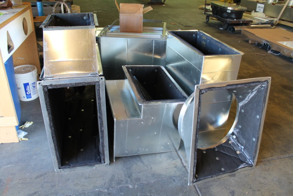 Insulated Duct Plenums Elbows Square To Rounds
